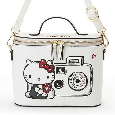 8436498e114e Hello Kitty ACTION Vanity Shoulder Bag Mini Purse Pochette Sanrio Japan F S