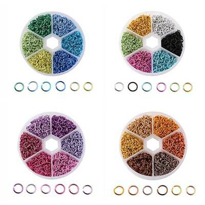 Mixed Color Open Jump Rings Split Rings DIY Necklace Bracelets  Jewelry Findings