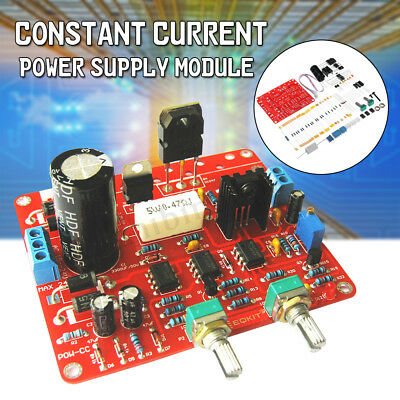EQKIT DIY Constant Current Power Supply Module Kit Regulated DC 0-30V 2mA-3A