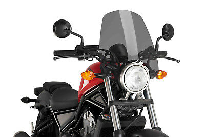 Windschild Puig Naked N.g. Touring Honda Rebel 500 2017 Dunkel Getont