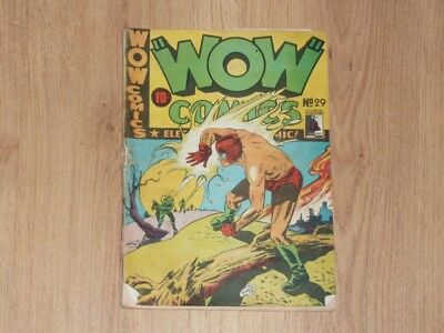 Wow Comics #29 - Bell Features - Golden Age - 1940's - Canadian Issue - PR