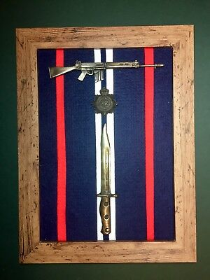 Royal Corps Of Transport (RCT) Commemorative Frame with SLR