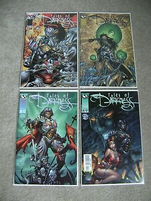 Tales Of Darkness #1 2 3 4 Complete Series Set Image Top Cow Comics 1998 Sets
