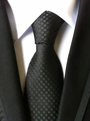 Classic Men's Wedding Tie dot style Party gift JACQUARD WOVEN Tie Casual Necktie