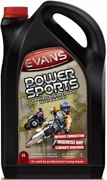 Evans Waterless Coolants- Kühlflüssigkeit - Power Sports - 5ltr