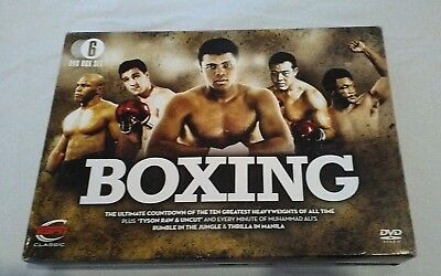 Boxing ESPN Classic 6 DVD Box Set 10 of the Greatest Heavyweights of all Time