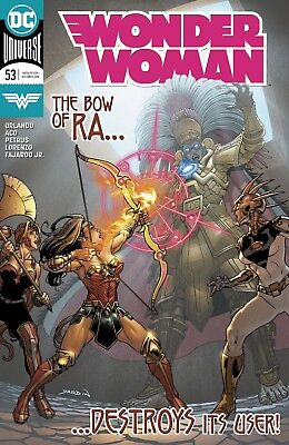 Wonder Woman #53 Dc Universe - 1St Print - Bagged And Boarded. Free Uk P+P!