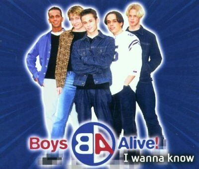 Boys Alive | Single-CD | I wanna know (2001)