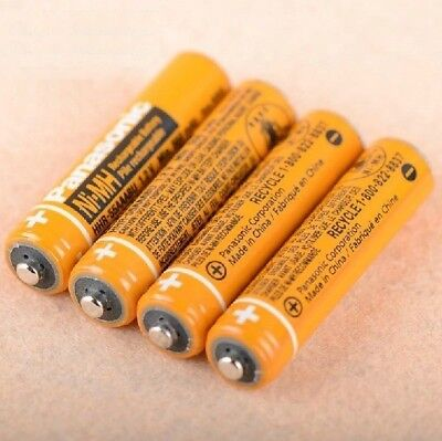 4PCS/lot Original HHR-55AAABU AAA batteries phone Cordless Ni-MH 550mAh 1.2V