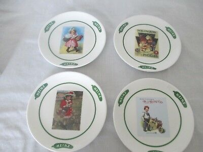 "Heinz Co. Limited Edition 4 Collectible 6"" Dessert Plates  NIB"
