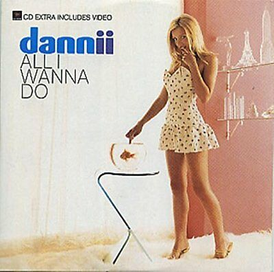 Dannii Minogue | Single-CD | All I wanna do (1997, cardsleeve)
