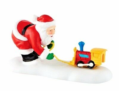 Toot-Toot Tester Dept 56 North Pole 4050969 Christmas toys accessory snow city A