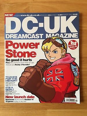 Dreamcast DC-UK Magazine Issue #2 Very good condition