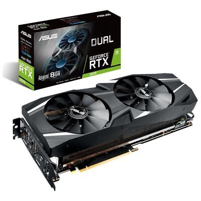 8GB Asus GeForce RTX2070 DUAL A8G 3xDP/H
