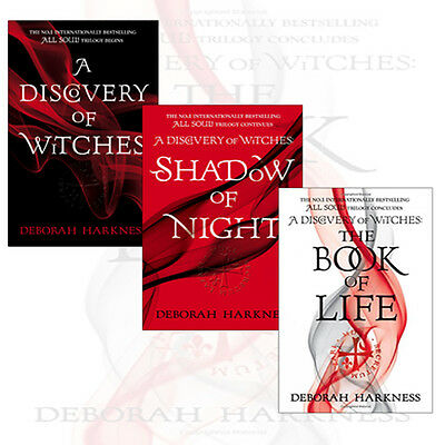 All Souls Trilogy By Deborah Harkness Collection 3 Books Set  Book of Life NEW