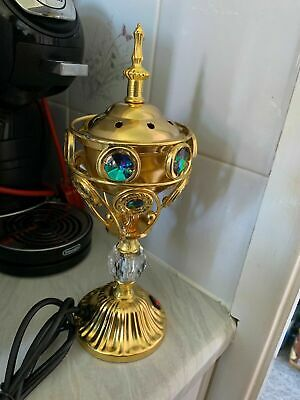 Traditional Arabian Incense burner Bakhoor Electric Metal Positive Energy Gift