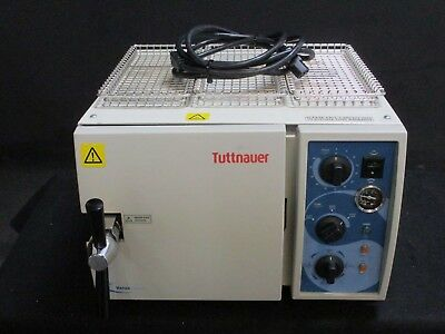 REFURBISHED Tuttnauer 1730 MKV Dental Autoclave Sterilizer w/ 1 Year Warranty