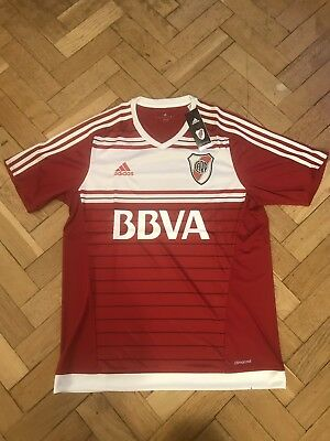 Adidas River Plate Football Jersey, Large, Brand New With Tags, Soccer Top