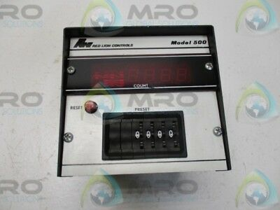 Red Lion Controls Ca400-Du-4 Digital Analog Counter 115Vac * Used*