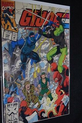 Marvel G.I. Joe A Real American Hero 1993 #134 Vol. 1 1st print GD comic