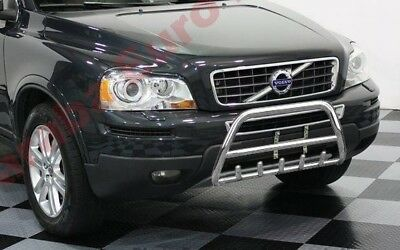 VOLVO XC90 STAINLESS STEEL CHROME AXLE NUDGE A-BAR BULL BAR 2004-2014 MODELS
