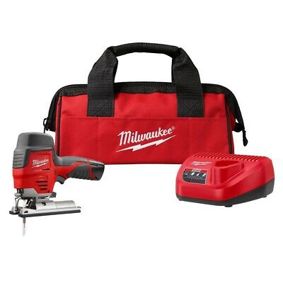 Milwaukee 2445-21 M12 12V Cordless Jig Saw Kit Sealed In The Box