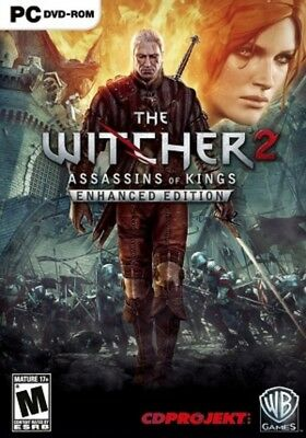 The Witcher 2 Assassins of Kings Enhanced Edition (PC) STEAM KEY GLOBAL, No DVD