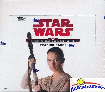 2017 Topps Journey to Star Wars: The Last Jedi MASSIVE 24 Pack Retail Box-144 Cd