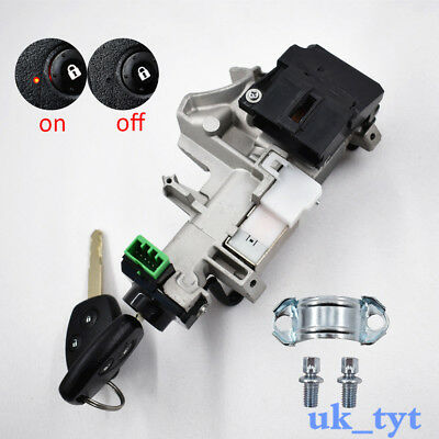 New Ignition Switch Cylinder Lock Auto Trans 2 KEY Fit for 06 07-11 Honda Civic