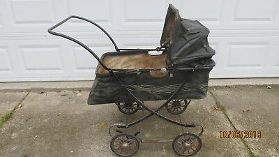 Vintage Siebert Baby Buggy In Nice Condition