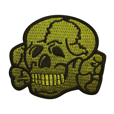Skull Crossbones Tactical Morale Hook Patch (3.0 inch WYS5)