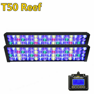 54/87cm DSunY Dimmable LED Aquarium Light Programmable Coral Reef SPS LPS Marine