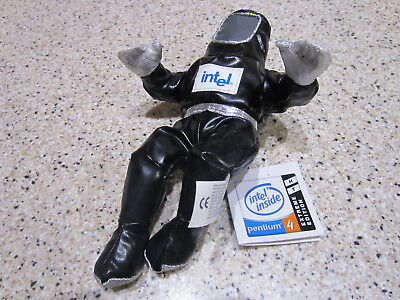 COLLECTIBLE Intel Pentium 4 Bunny People Black w/Tags