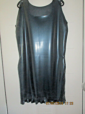 Latexkleid, Latex Kleid, Rubber, Gummi Fetisch, Rubber dress Gr. 48