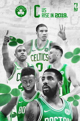 Kyrie Irving Boston Celtics Point Guard Canvas Poster 12x18 32x48 inch