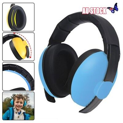 Baby Earmuffs Kids Children's Toddler Ear Muffs Hearing Protection Headband New