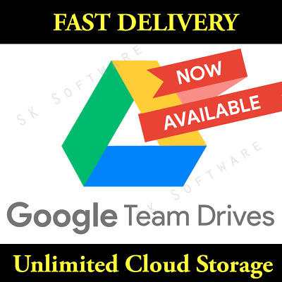 Only today LOT OF 2 Google Drive Unlimited added to your Google Account Lifetime