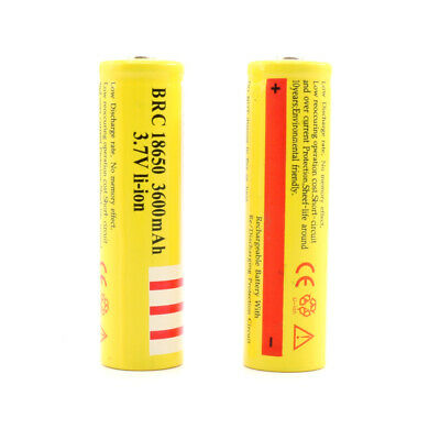 Top Quality 18650 Battery 3.7V 3600mAh BRC Rechargeable Li-ion Lithium Cells UK