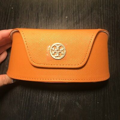 8c0c8a8793 NWOT Tory Burch Orange Sunglasses   Glasses Luxury Case w  Magnetic Closure