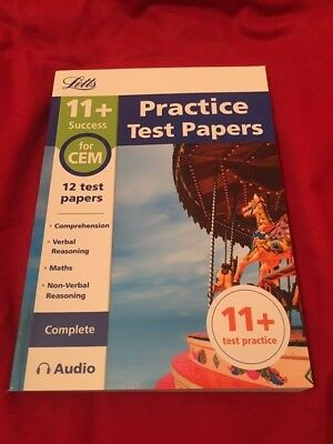 11+ Practice Test Papers for the CEM tests (Complete) inc. Audio Download (Letts