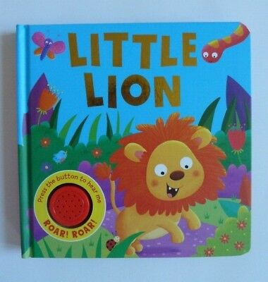 Little Lion Single Sound Book Kids ages 0 months+ to 4 Years New Christmas Gift