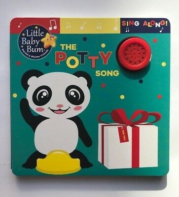 The Potty Song Little Baby Bum Sing Along Sound Book Ages 6 Months+ New Gift