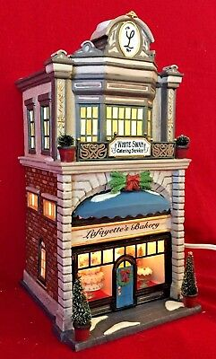 Lafayettes Bakery Dept 56 Christmas in the City Village 58953 CIC snow retired A