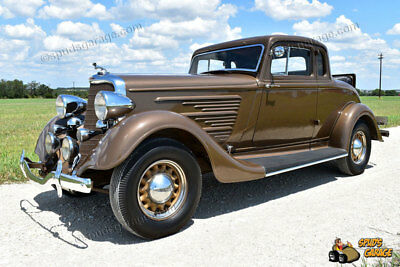 1934 Dodge 5 Window Rumble Seat Coupe DR Six Series 1934 Dodge Brothers 5 Window Coupe DR Six Series