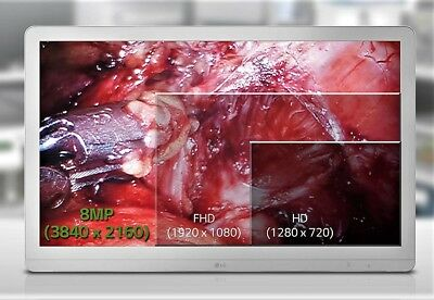 """LG 27"""" 4K 8MP Color Endoscopy / Radiology Review Monitor 27HJ712C-W"""