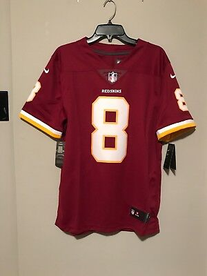 Nike Washington Redskins Kirk Cousins Jersey Burgund White Men s  150 d14582d0d80