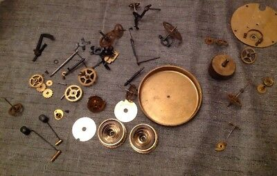 Antique Clock Movement Parts Repair Or Spare Parts