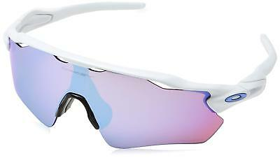 abf7e32fc2 Oakley Radar EV Path Polished White Prizm Sapphire Snow Sunglasses  OO9208-4738
