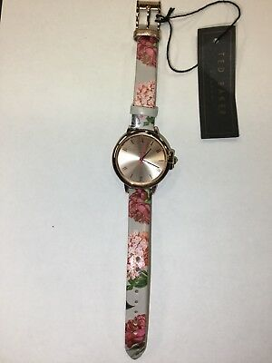 c9e2fdd17f79d TED BAKER LADIES KATE Leather Strap Watch TEC0025007 -  115.31 ...