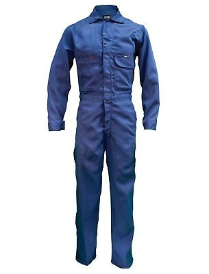 Key FR HRC2 Men's Flame-Resistant Contractor Coverall - Navy Model 984.41